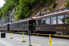 Forty Mile River Train Stock Image