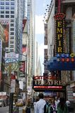 Forty Second Street Royalty Free Stock Photo