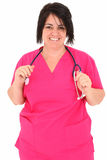 Forty Year Old Nurse Stock Photo