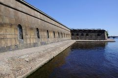 fortyfikaci ściana Obrazy Royalty Free