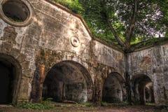 fortyfikacj przemysl ruiny Fotografia Royalty Free