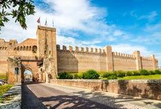 Fortyfikacja Cittadella miasto Zdjęcie Royalty Free