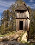 fortyfikacja drewniana Fotografia Royalty Free