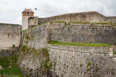 Fortyfikacje Besancon Zdjęcia Royalty Free