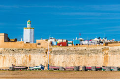 Fortyfikacje Portugalski miasto Mazagan w el, Maroko Fotografia Royalty Free