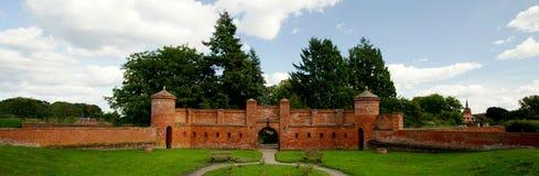 fortyfikacyjny portal Fotografia Stock