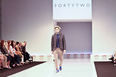 FORTYTWO clothing collection Stock Image
