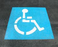 foru parking znak fotografia royalty free
