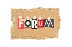 Forum photo libre de droits