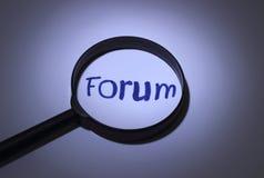 forum Zdjęcie Stock