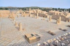 Forum in ancient Sbeitla Stock Photo