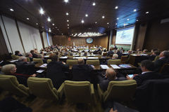 Forum annuel d'association d'industrie d'hélicoptère Photos libres de droits