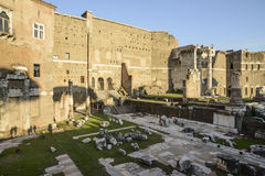 Forum august rome Italy europe Stock Photography