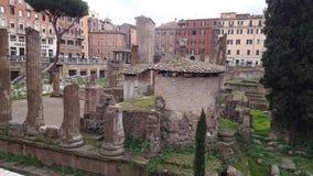 Forum Augusto in Rom stockfotos