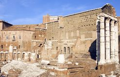 Forum of Augustus Stock Photo