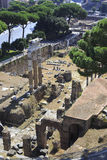 Forum of Augustus in the Imperial Fora Stock Photos
