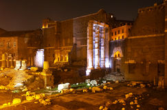 Forum of Augustus, Rome Royalty Free Stock Photography