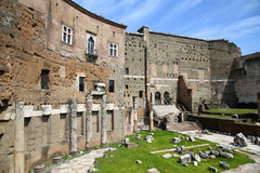 The Forum of Augustus in Rome, Italy Royalty Free Stock Photos