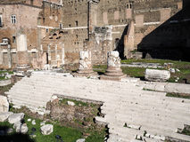 Forum of Augustus in Rome Royalty Free Stock Image