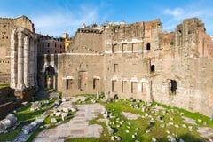 Forum of Augustus in Rome Stock Photos