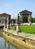 Forum Boarium gesehen von der Insel Memmia in Prato-della Valle in Padua im Venetien (Italien) Stockfoto