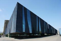 Forum Building, Barcelona. Museu Blau Stock Image