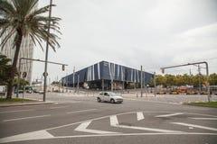 Forum Building in Barcelona, Spain Stock Photo