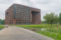 Forum Building at Wageningen University Royalty Free Stock Photos