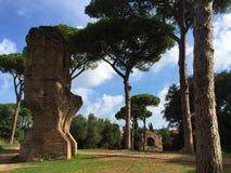 Forum był centrum z dnia na dzień życie w Rzym obrazy royalty free