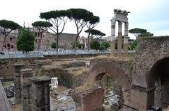 Forum of Caesar in Rome. Stock Photos