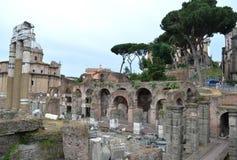 Forum of Caesar in Rome. Stock Images