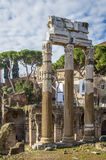 Forum of Caesar, Rome Royalty Free Stock Photography