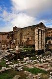 forum cesarski Italy Rome fotografia stock