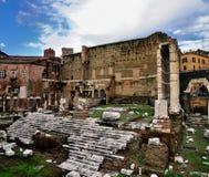 forum cesarski Italy Rome zdjęcie royalty free