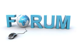 Forum concept Royalty Free Stock Photo