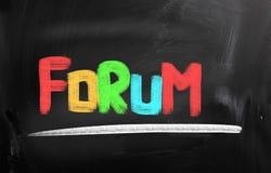 Forum Concept Stock Photos