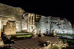 Forum de forum d'August Roman images stock