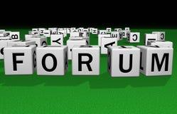 Forum de matrices illustration libre de droits