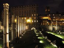 Forum de Rome de trajano photo stock