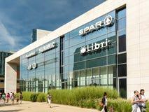 Forum-Debrecen-Einkaufszentrum Lizenzfreie Stockbilder