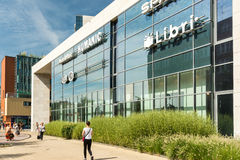 Forum Debrecen Shopping Mall Stock Image