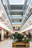 Forum Debrecen Shopping Mall Royalty Free Stock Images