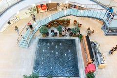 Forum Debrecen zakupy centrum handlowe Fotografia Royalty Free