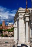 Forum del ` s di Traiano a Roma Fotografia Stock Libera da Diritti