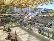 Forum des Halles shopping center in the summer, Paris, France Stock Images