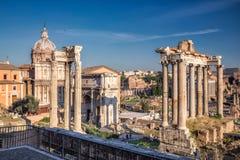 Forum di Caesar a Roma Fotografia Stock Libera da Diritti