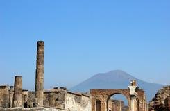 Forum di Pompei Fotografia Stock Libera da Diritti
