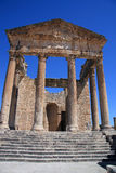 The Forum Dougga Royalty Free Stock Images