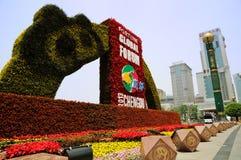 2013 forum globale di fortuna, Chengdu Fotografia Stock Libera da Diritti