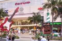 Forum i Cancun Royaltyfria Bilder